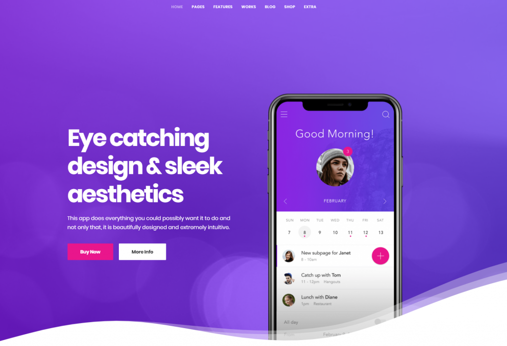 social media-friendly, and mobile-friendly theme