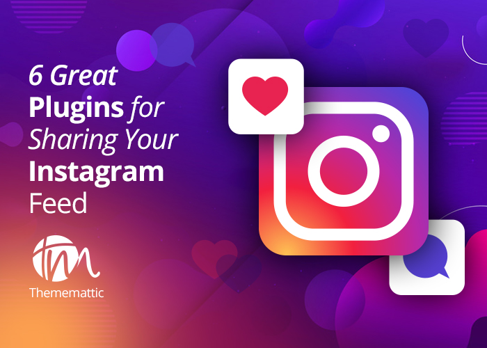6 Great Plugins For Sharing Your Instagram Feed