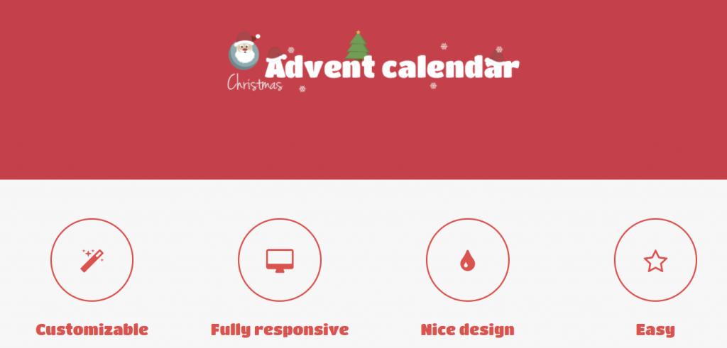 advent calendar plugin