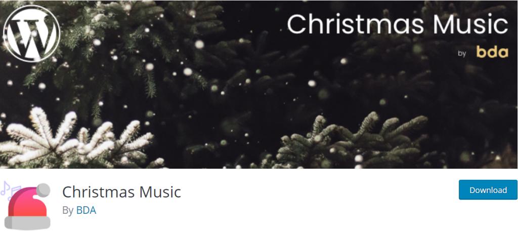 Christmas music plugin