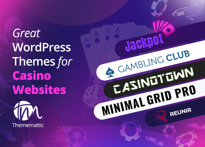 Online casino & slots gratis WP themes