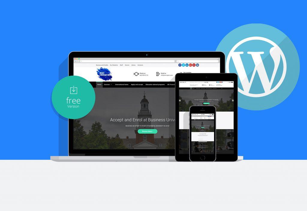 Best Education wordpress theme