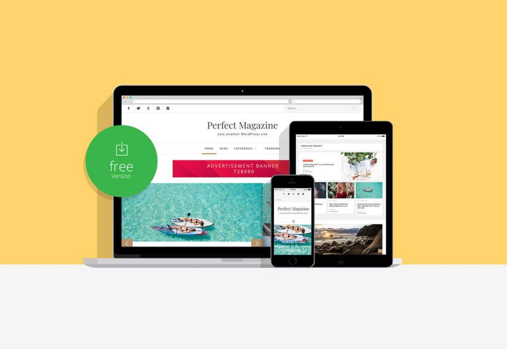 Perfect Magazine free wordpress theme