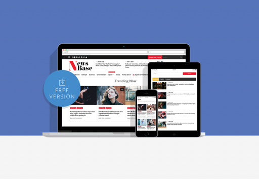 News Base Free WordPress Theme for News Sites